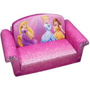 Toddler Flip Out Sofa Bed Walmart Marshmallow 2 In 1 Flip Open Sofa Disney Princess