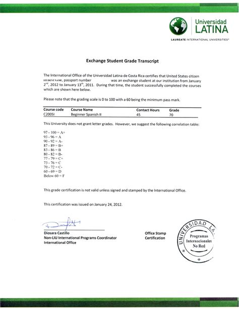 exle of authorization letter for transcript letter of request for transcript of records sle