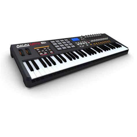 Keyboard Controller akai mpk61 61 key usb midi keyboard controller mpk 61 keyboards midi from inta audio uk