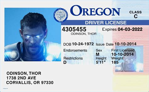 temporary drivers license template fantastic indiana drivers license template gallery