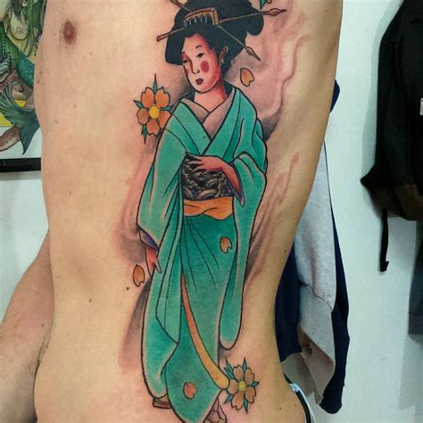 geisha tattoo for men 70 colorful japanese geisha tattoos meanings and