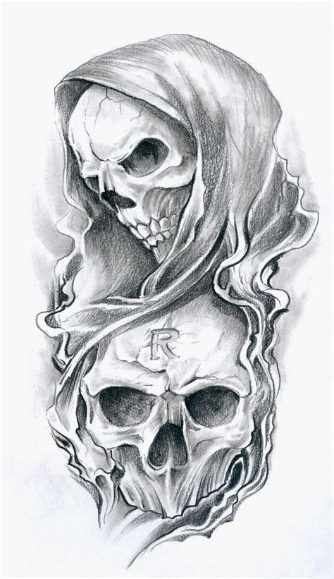skull tattoo drawing http silentstudiosuk deviantart skulls2 74516451