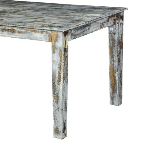 Distressed Wood Kitchen Table Grey Speckled Distressed Wood Kitchen Dining Table