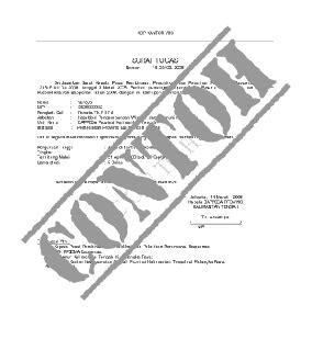 Penulisan Lokasi Di Lop Lamaran by Contoh Surat Pernyataan Hutang Suratkerja