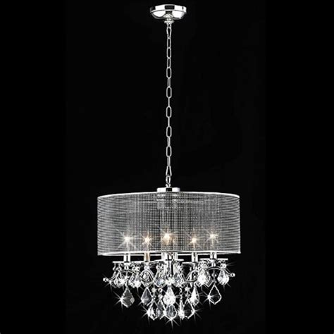 The Chandelier Shop Shop Warehouse Of 18 In 5 Light Chrome Drum
