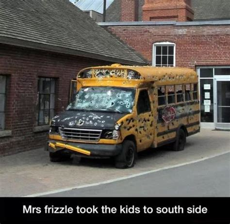 School Bus Meme - miss frizzle south side the magic school bus know your