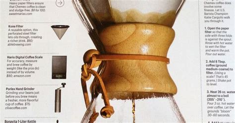 Coffee Maker Appetite chemex guide from bon appetit infograf 237 a coffee makers