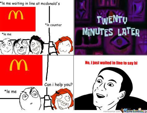 Mcdonalds Meme - mcdonald s by bebekilla meme center