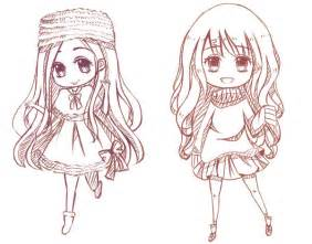 chibi sketch examples by cathychen on deviantart