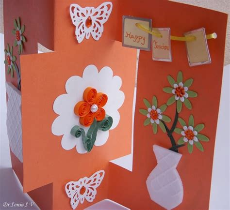 craft cards cards crafts projects teachers day card recycled
