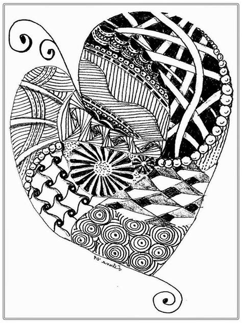 printable coloring pages for adults hearts heart pictures to color for adult realistic coloring pages