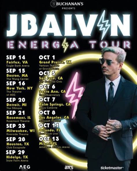 j balvin concert j balvin announces 2017 us energ 237 a tour including a stop