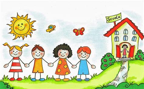 clipart bambini a scuola open day scuola infanzia songavazzo sito ufficiale