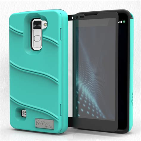 Lg Stylus 2 Future Armor Stand Soft Sarung Cover Belt Clip for lg stylo 2 v vs835 vte wallet tempered glass with built in mirror cover ebay