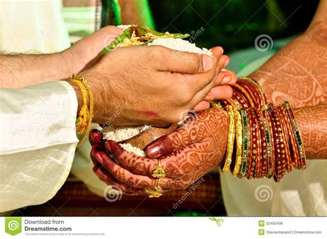 Hindu wedding ritual stock photo. Image of bracelet, colorful   22450408