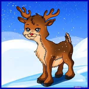 how to draw a reindeer step by step viewing gallery