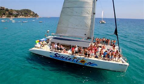 catamaran party fleet catamaran costa brava