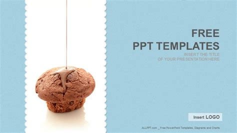 food powerpoint templates free cake food ppt templates free