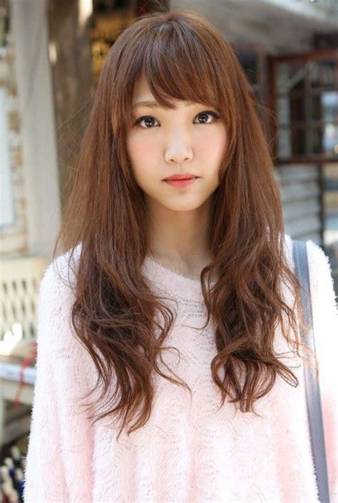 shaggy haircuts no bangs cute asian long hairstyle with bangs bang hairstyles