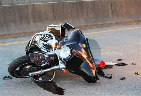 motor cycle motorcycle crash shuts w marine view drive
