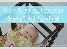 How to Make a DIY Doll Crib (from a magazine rack ... Diy Magazine Racks