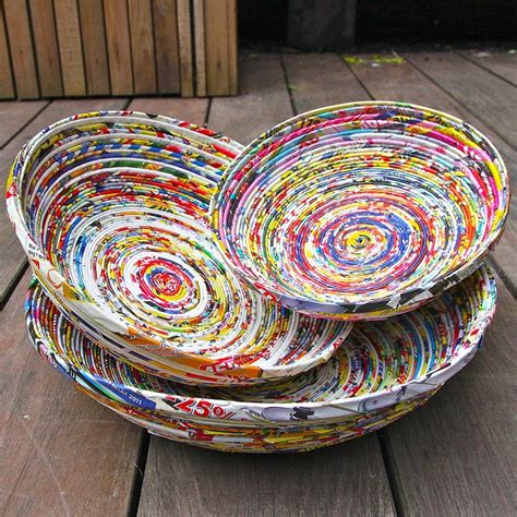 Paper Crafts Recycled Newspaper - best 25 recycled magazines ideas on recycled