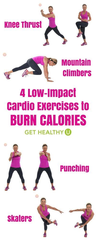 rate cardio and burn calories on