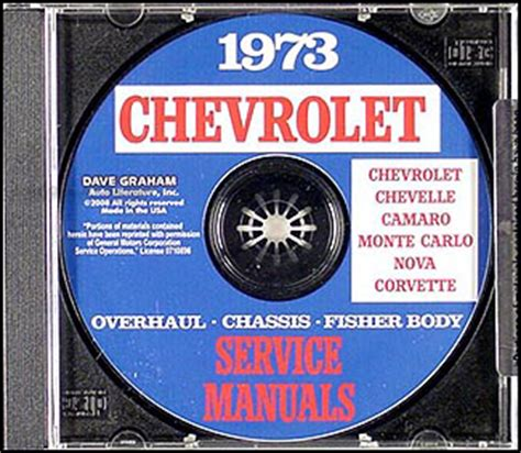 service manuals schematics 1973 chevrolet monte carlo parking system 1973 chevy cd shop manual set chevelle monte carlo el camino laguna ebay