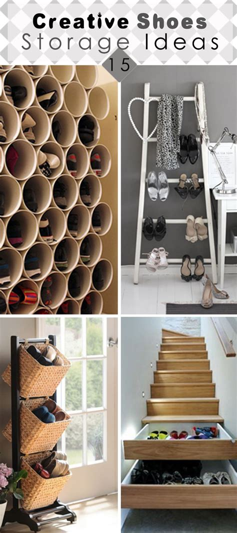 creative shoe storage ideas that will your mind 15 creative shoes storage ideas hative
