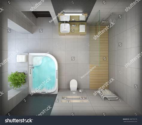 3d bathroom design tool released integrity new homes interior modern design bathroom top view stock