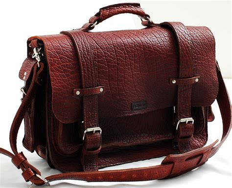 Handmade Leather Luggage - items similar to leather bag unisex american buffalo