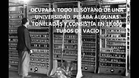 generacion de las computadoras primera generaci 243 n de computadoras