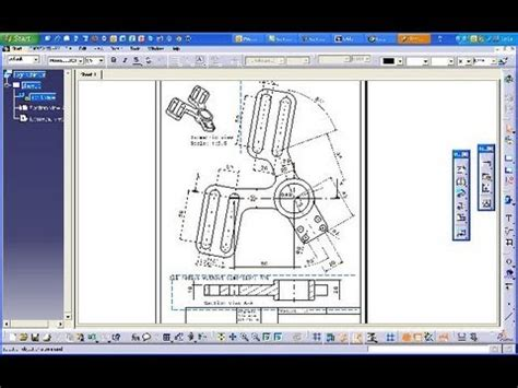 catia section view 3 14 regelschieber catia v5 drafting training aligned