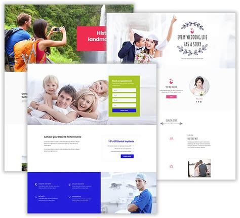 Divi Layout Templates Divimonk Premade Divi Templates And Why You Should Be Using Them