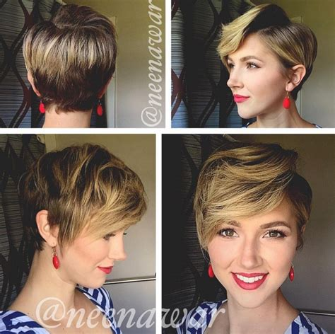 cute wavy curly pixie cuts  love pixie haircuts