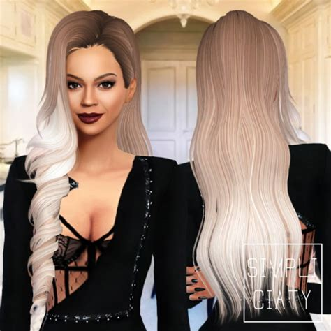 barbies stuffs hairstyles sims 4 hairs sims 4 hairs simpliciaty skysims 244 hair converted