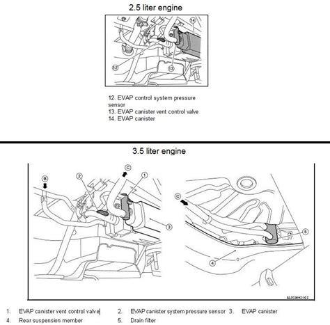 how to determined evap sensor fualt 2010 lexus gx p0452 2011 nissan altima sedan evap control system