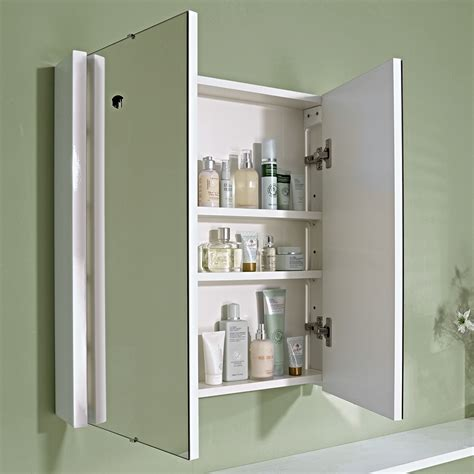 white mirror bathroom cabinet 600mm gloss white minimalist bathroom mirror cabinet 163 55