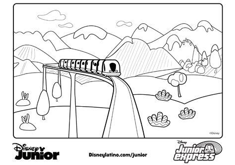 Imagenes Para Colorear Junior Express   dibujos junior express para colorear todo peques