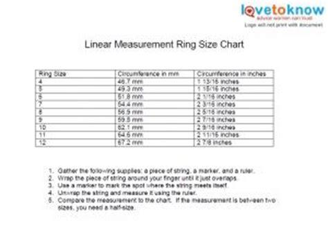 printable ring sizer balfour printable ring size chart lovetoknow