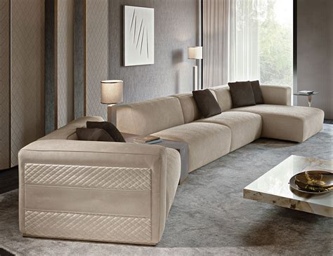 freud sofa nella vetrina rugiano freud sectional sofa in suede