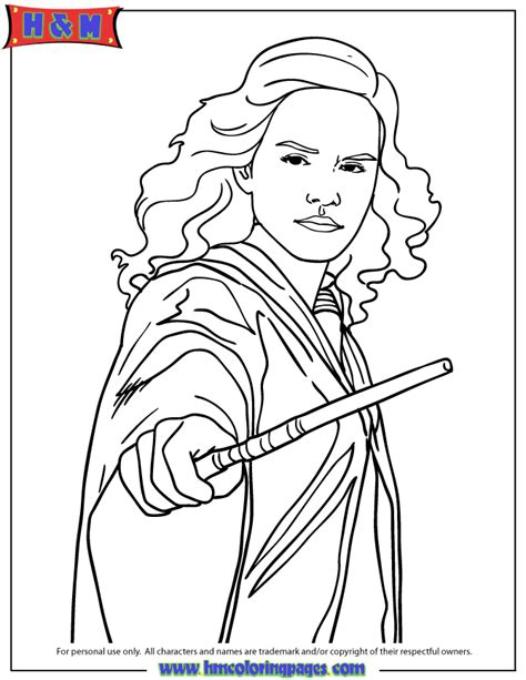 Hermione Coloring Pages free coloring pages of hermione