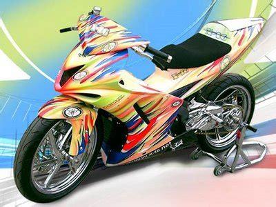 Modification Jupiter Mx 2012 by Motorcycle Modifications Yamaha Jupiter Mx