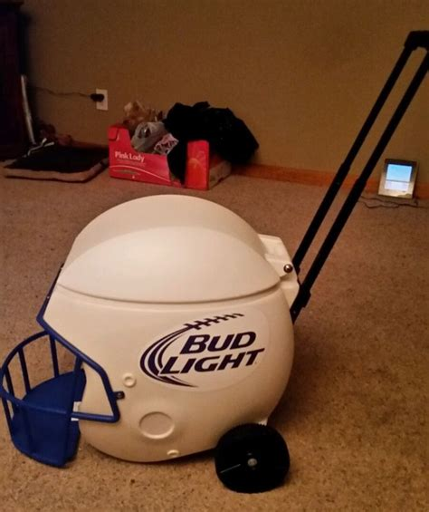 football helmet shaped chair bud light chest shop collectibles daily