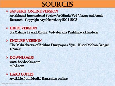 ved vyas biography in english summary of the mahabharata of vyasa