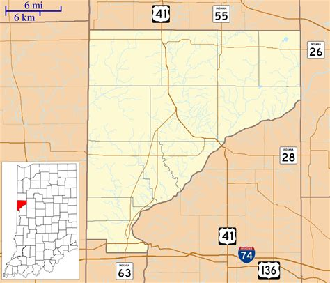 Warren County Section 8 by Point Pleasant Indiana