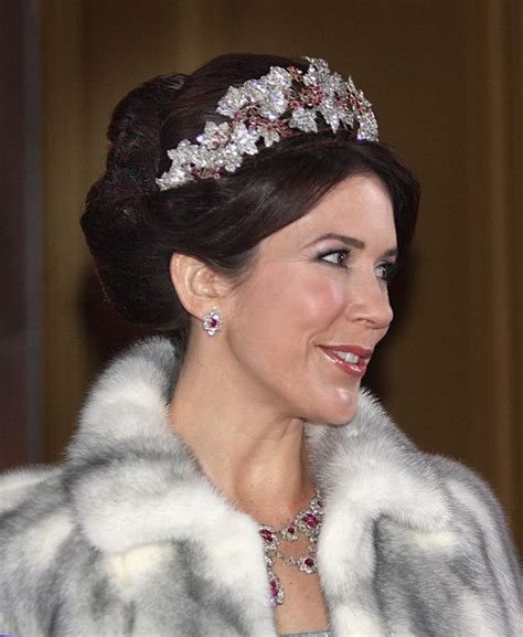 princess mary of denmark new bangs 17 best images about royal jewels denmark on pinterest