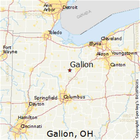 galion ohio map best places to live in galion ohio