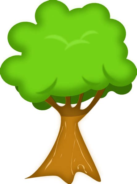 tree clipart soft trees clip at clker vector clip