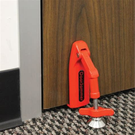 door jammer for personal security protection